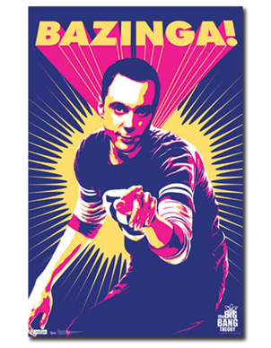 The Big Bang Theory Sheldon Wall Poster