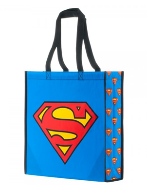 Superman Large Shopper Tote Bag