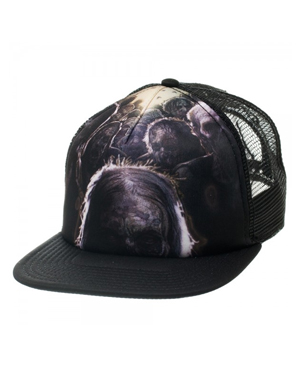 The Walking Dead Sublimation Print Trucker Cap