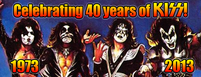 Official KISS Merchandise/Celebrating 40 Years of KISS!