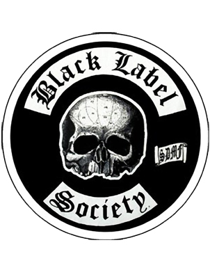 Black Label Society Skull Logo Embroidered Patch